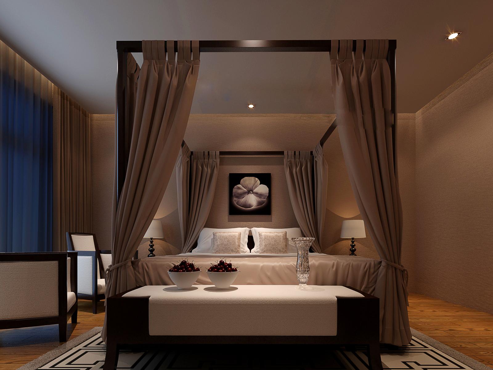 二居 简约 卧室图片来自武汉一号家居网装修在南湖山庄半岛花园95平现代2室2厅的分享