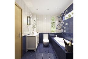 田园 三居 白领 收纳 旧房改造 80后 小资 舒适 温馨 卫生间图片来自fy1831303388在青南美湾的分享
