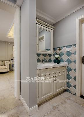 美式 四居 舒适 卫生间图片来自九鼎建筑装饰工程有限公司成都分在中德英伦联邦的分享
