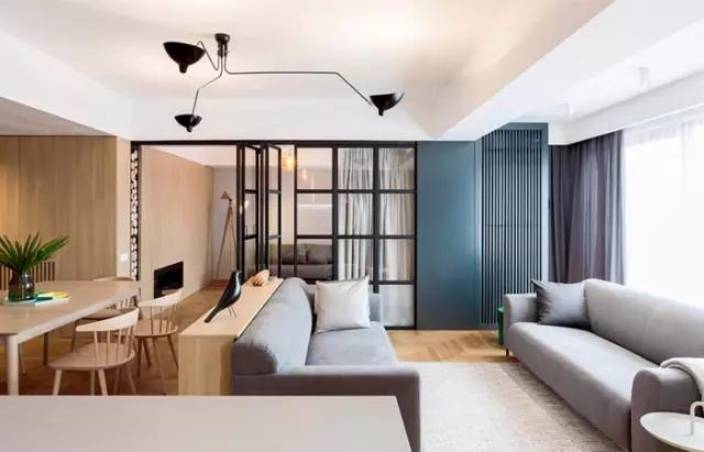 简约 欧式 田园 混搭 二居 三居 别墅 旧房改造 收纳 客厅图片来自实创装饰晶晶在120㎡时尚原木两居中性风格的分享