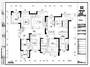 三居 美式 舒适 简单 户型图图片来自九鼎建筑装饰工程有限公司成都分在华润凤凰城的分享