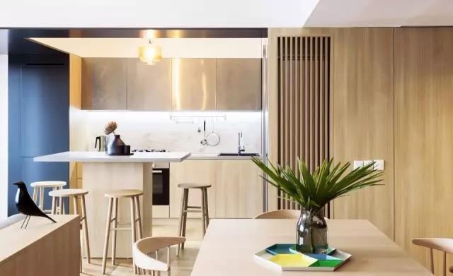 简约 欧式 田园 混搭 二居 三居 别墅 旧房改造 收纳 餐厅图片来自实创装饰晶晶在120㎡时尚原木两居中性风格的分享