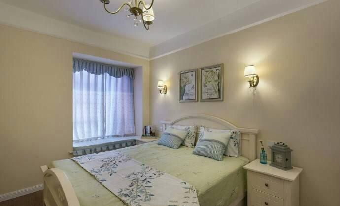 卧室图片来自广州泥巴公社装饰小方在蝶舞花香*田园风的分享