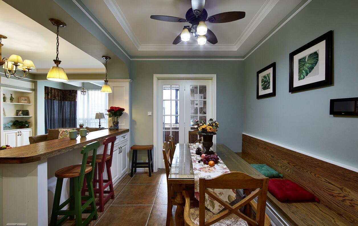 简约 欧式 田园 混搭 二居 三居 别墅 收纳 旧房改造 餐厅图片来自紫禁尚品国际装饰高晓媛在简单大气的美式风格的分享