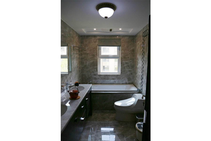 简约 三居 白领 收纳 旧房改造 80后 小资 舒适 温馨 卫生间图片来自fy1831303388在现代简约的分享