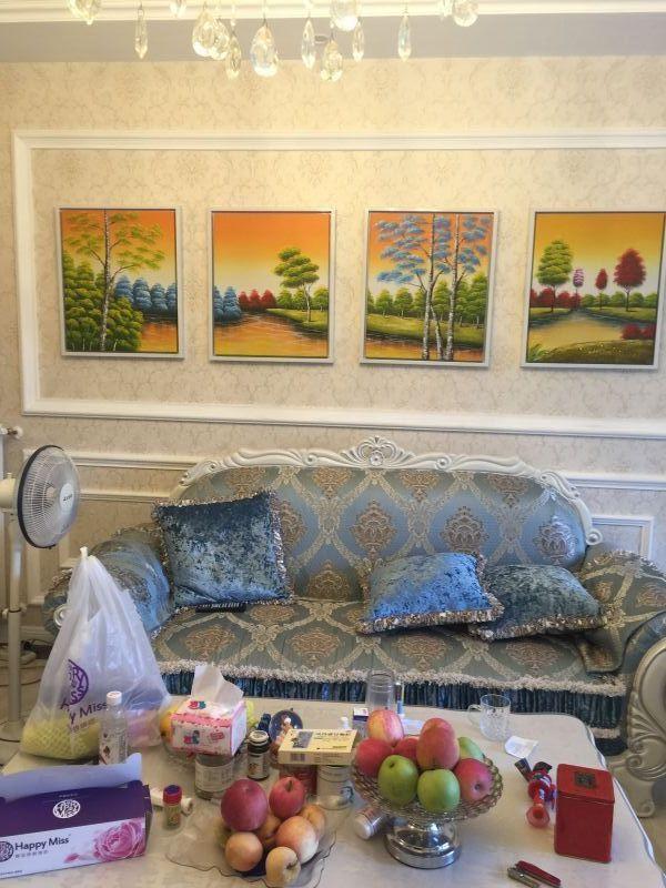 简约 欧式 三居 玫瑰园 V2装饰 客厅图片来自成都V2装饰在青城山秀,醉美新家的分享