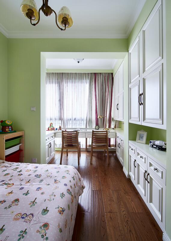简约 欧式 田园 混搭 二居 三居 别墅 收纳 旧房改造 卧室图片来自紫禁尚品国际装饰高晓媛在简单大气的美式风格的分享