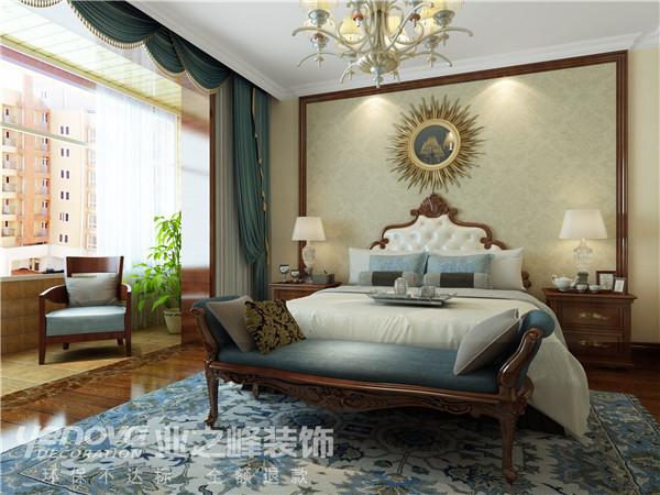 太原业之峰 装修案例 装饰效果图 环保装修 卧室图片来自太原业之峰小李在湖滨晋庭的分享