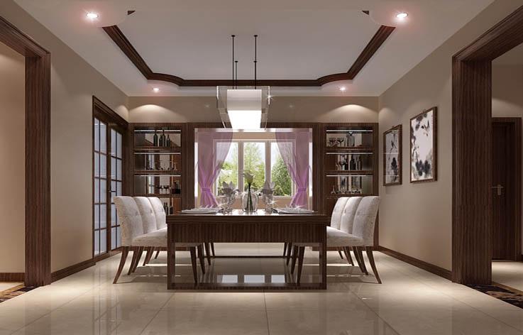 二居 简约 室内设计 装修 餐厅图片来自张邯在高度国际-纳帕澜郡2的分享