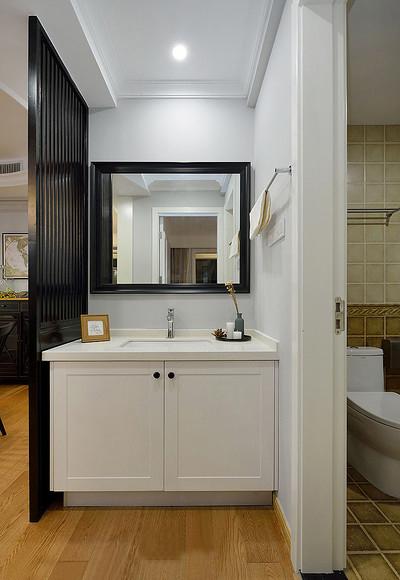 卫生间图片来自家装大管家在舒服有格调 87平简约清新时尚居的分享