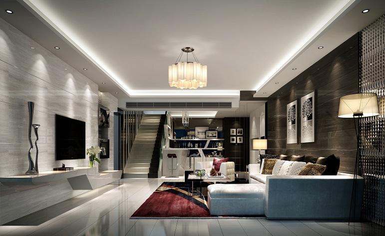 简约 客厅图片来自用户1254416087在丽晶大厦-现代简约-190平的分享