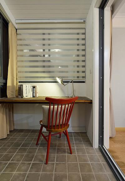 书房图片来自家装大管家在舒服有格调 87平简约清新时尚居的分享