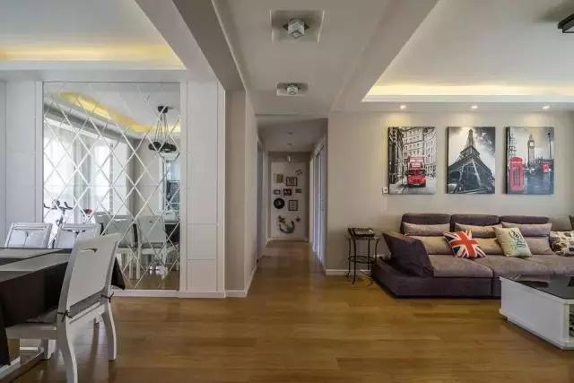 简约 田园 二居 混搭 欧式 三居 别墅 白领 收纳 客厅图片来自上海实创-装修设计效果图在松江九亭125平米现代简约风格的分享