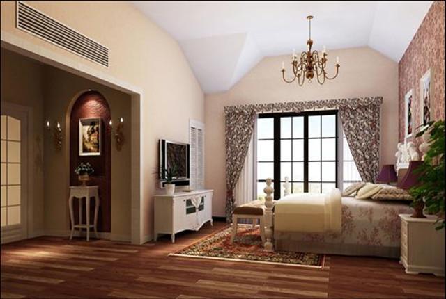卧室图片来自北京居然元洲装饰小尼在牛驼孔雀城独栋别墅田园风格的分享
