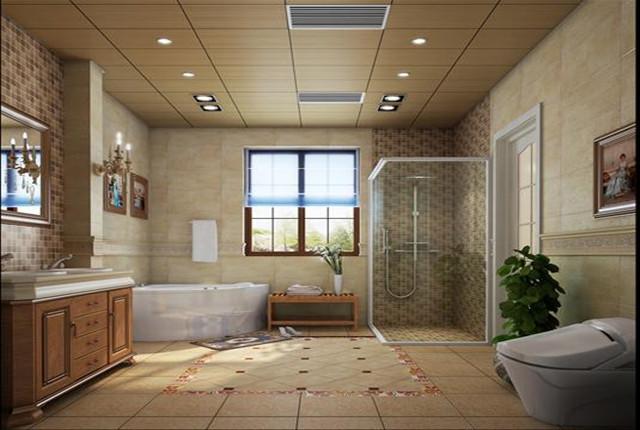 卫生间图片来自北京居然元洲装饰小尼在牛驼孔雀城独栋别墅田园风格的分享