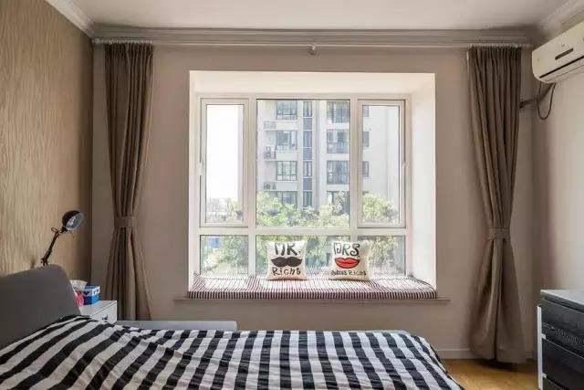 简约 田园 二居 混搭 欧式 三居 别墅 白领 收纳 卧室图片来自上海实创-装修设计效果图在松江九亭125平米现代简约风格的分享