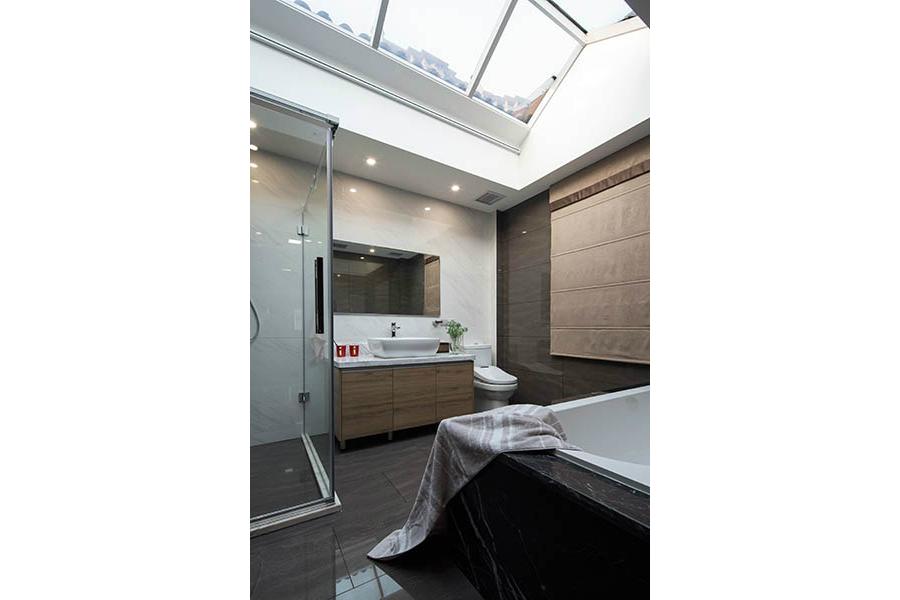 简约 别墅 白领 收纳 旧房改造 80后 小资 舒适 温馨 卫生间图片来自fy1831303388在远大林语城的分享