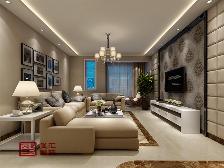 简约 跃层 玺汇国际 客厅图片来自河北玺汇国际装饰公司在春江花月169平错层简约风格的分享