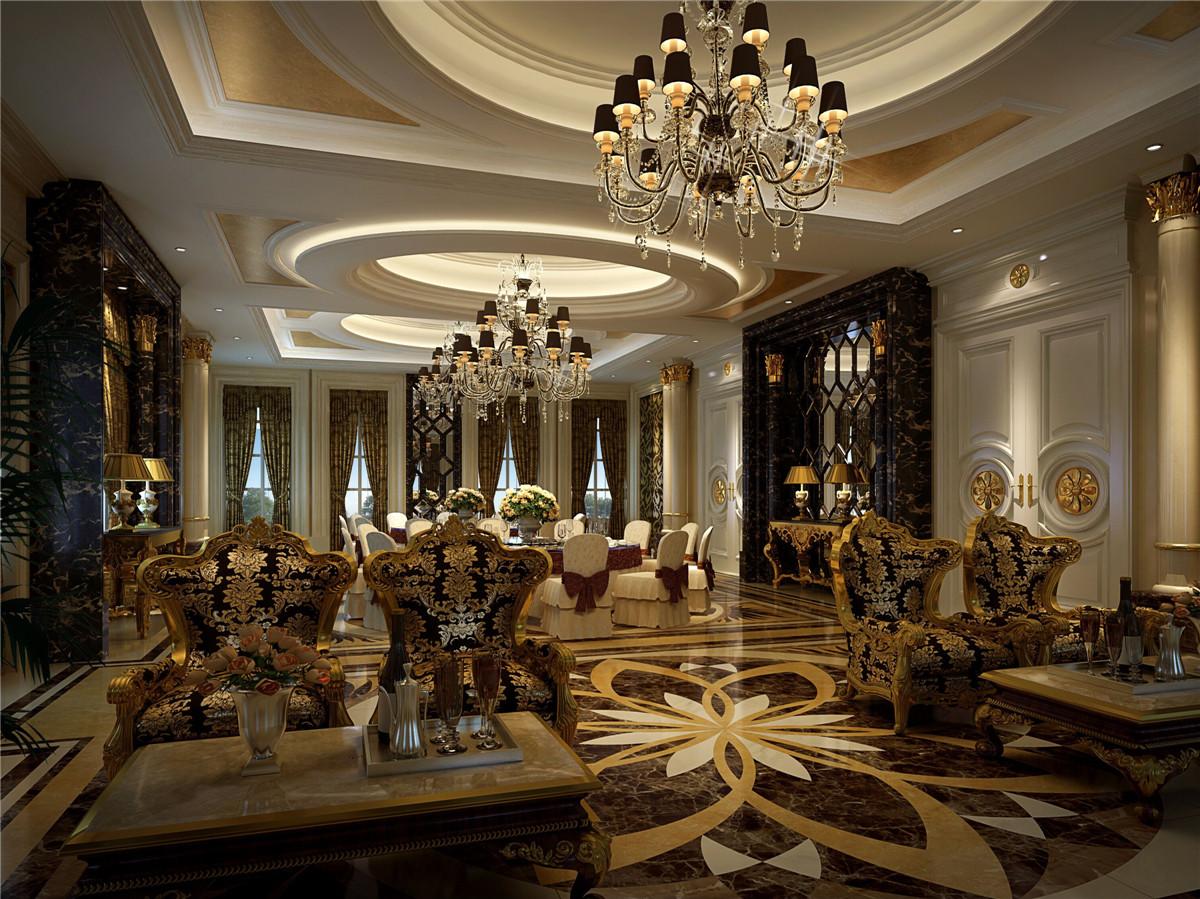 商务会所 装修设计 欧式古典 腾龙设计 客厅图片来自室内设计师孔继民在新茂润壹号商务会所古典欧式风的分享