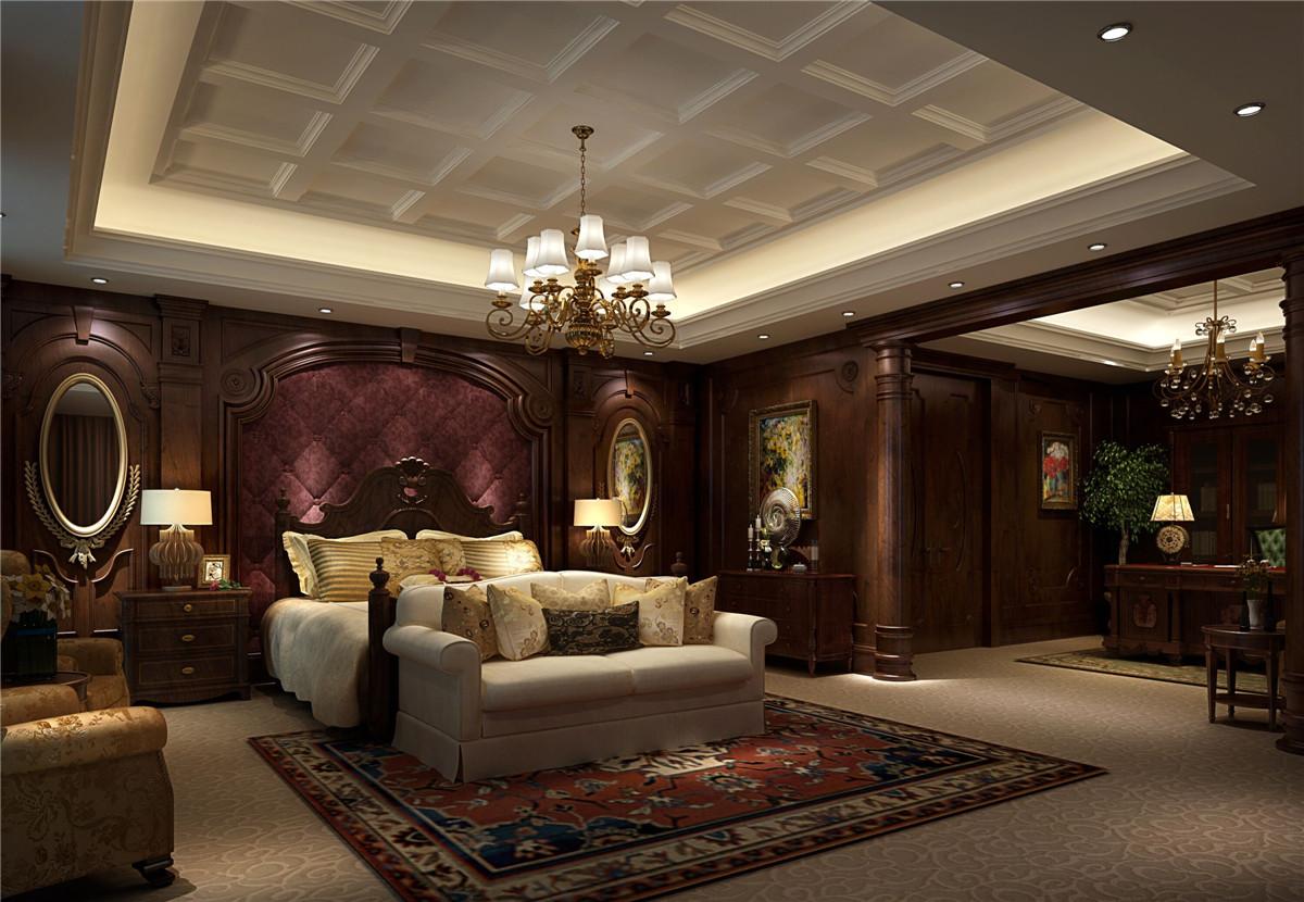 商务会所 装修设计 欧式古典 腾龙设计 卧室图片来自室内设计师孔继民在新茂润壹号商务会所古典欧式风的分享