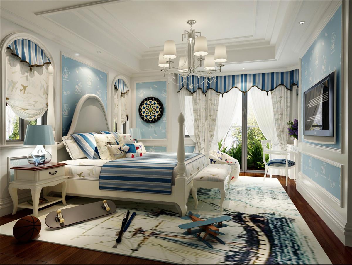 阳光乾城苑 装修设计 欧式古典 腾龙设计 卧室图片来自室内设计师孔继民在阳光乾城苑别墅装修新古典设计的分享