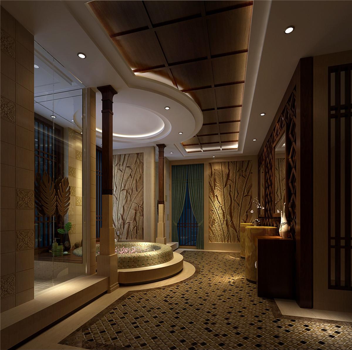 商务会所 装修设计 欧式古典 腾龙设计 卫生间图片来自室内设计师孔继民在新茂润壹号商务会所古典欧式风的分享
