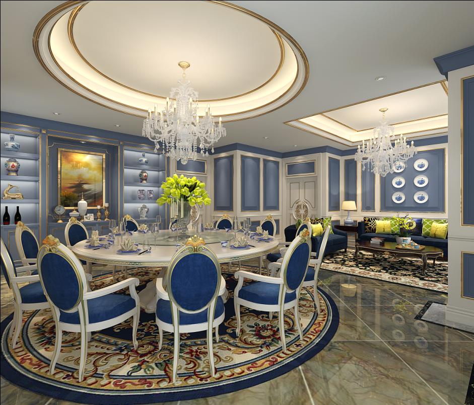白领 小资 餐厅图片来自半城烟沙5949758236在天骄俊园——中式风格的分享