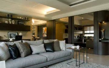 87平三居室简约风格装修完美呈现
