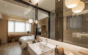 60平简约一居室装修尽显时尚态度