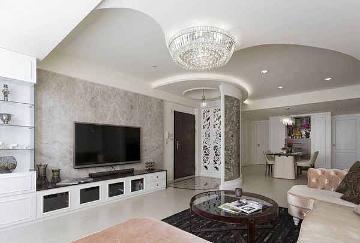 122平欧式古典风四室装修设计