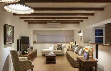 112平美式乡村三室装修设计案例