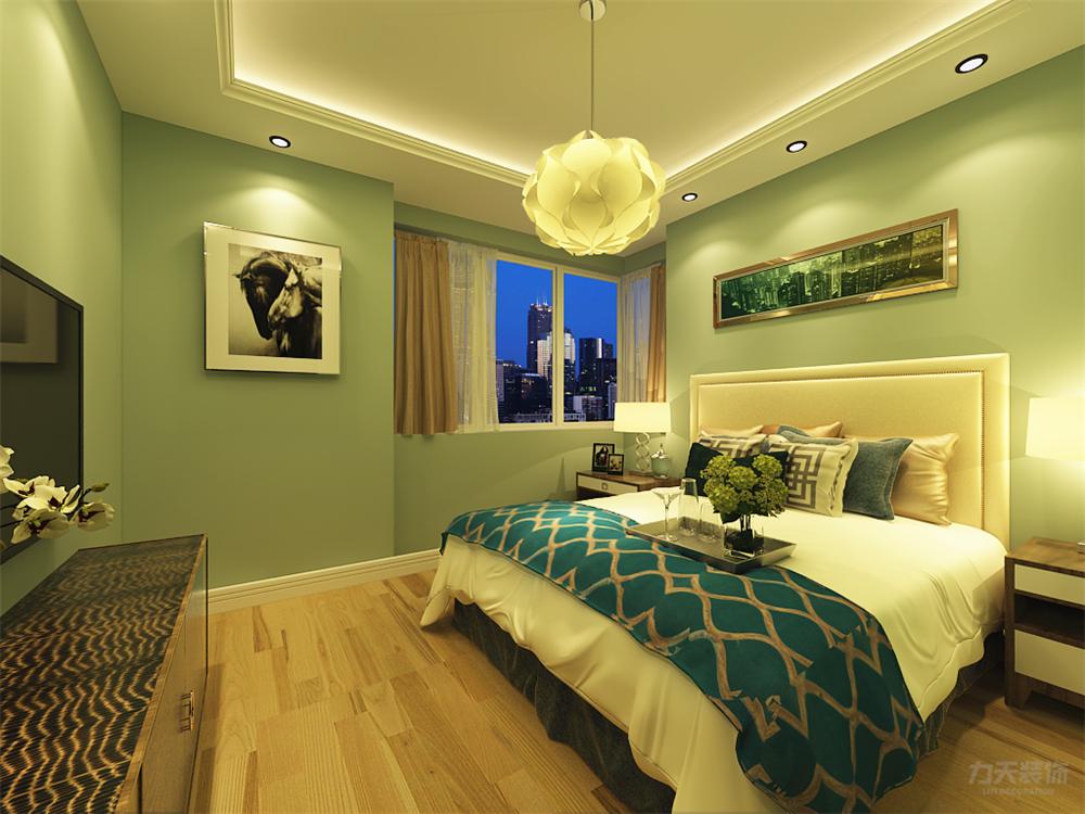 简约 三居 白领 收纳 小资 床 吊顶 卧室图片来自阳光力天装饰在力天装饰-天骥筑璟 121㎡的分享