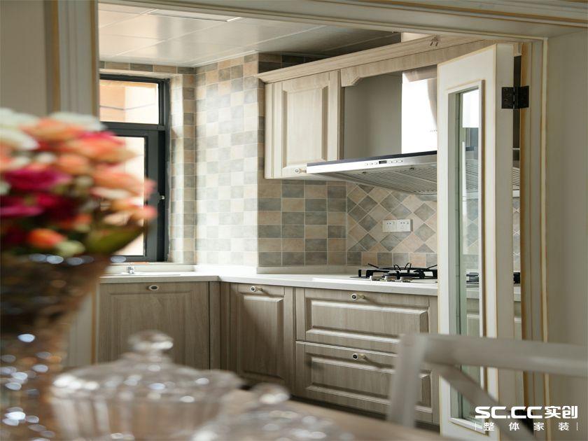 简约 美式 三居 厨房图片来自实创装饰上海公司在左岸香堤三居128美式的分享