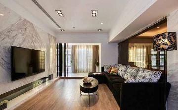 116平欧式风格三室装修设计案例