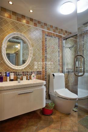 中环国际 三居 中式 申远 装修 设计 白领 卫生间图片来自申远-小申在中环国际 127平  中式风的分享