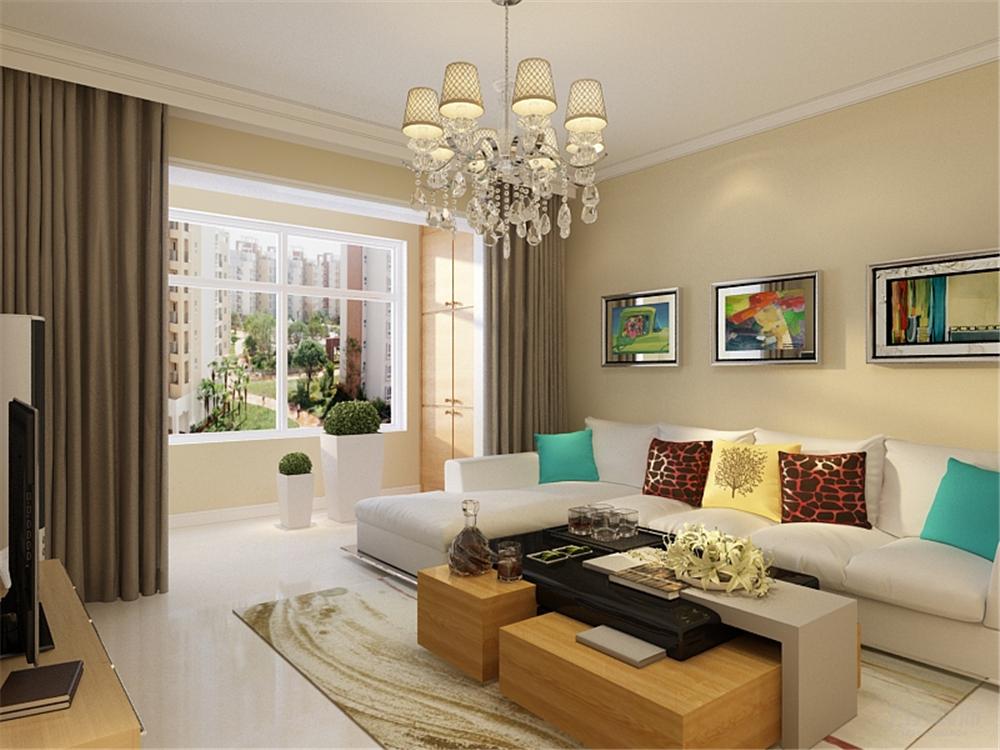 简约 二居 收纳 80后 小资 沙发 茶几 客厅图片来自阳光力天装饰在力天装饰-宝龙城  90㎡的分享