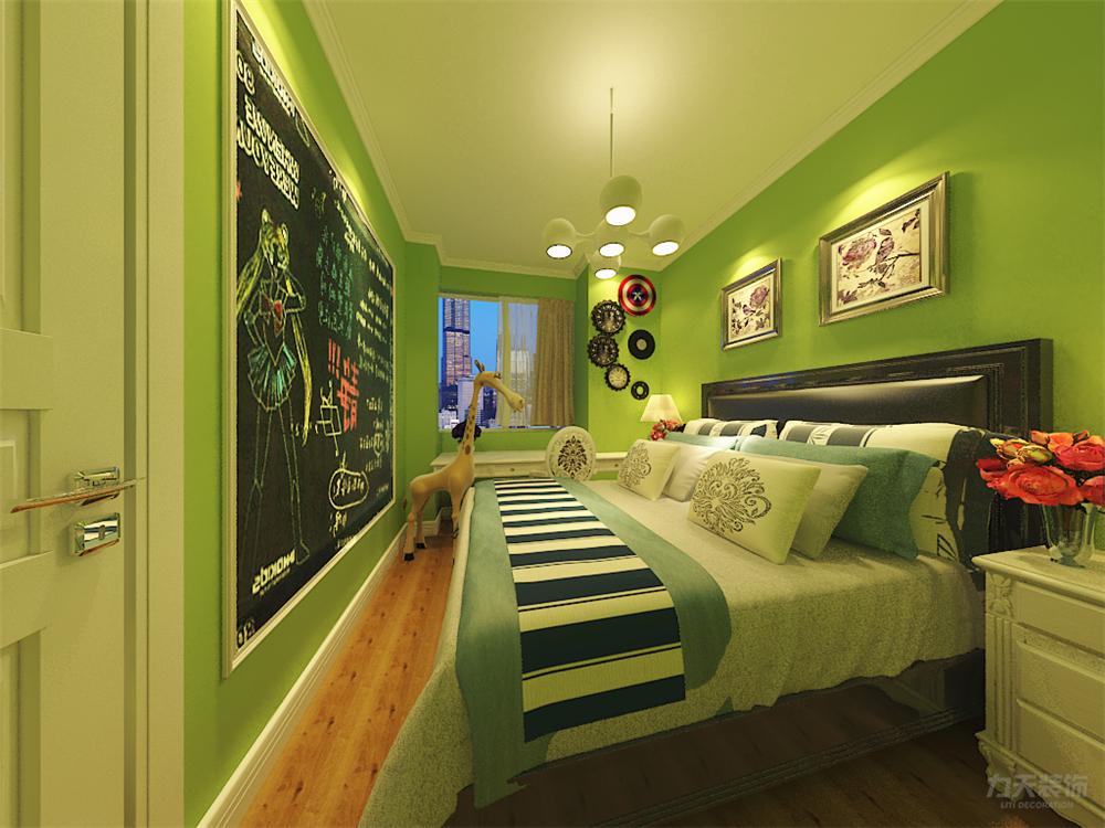 简约 三居 白领 收纳 小资 床 床头柜 卧室图片来自阳光力天装饰在力天装饰-天骥筑璟 121㎡的分享