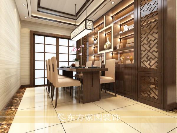 三居 收纳 中式 美观实用图片来自青岛东方家园装饰小王在山大教职公寓130平装修设计图的分享