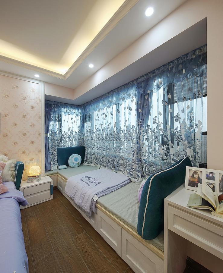 欧式 阳台图片来自西安紫苹果装饰工程有限公司在龙湖香醍的分享