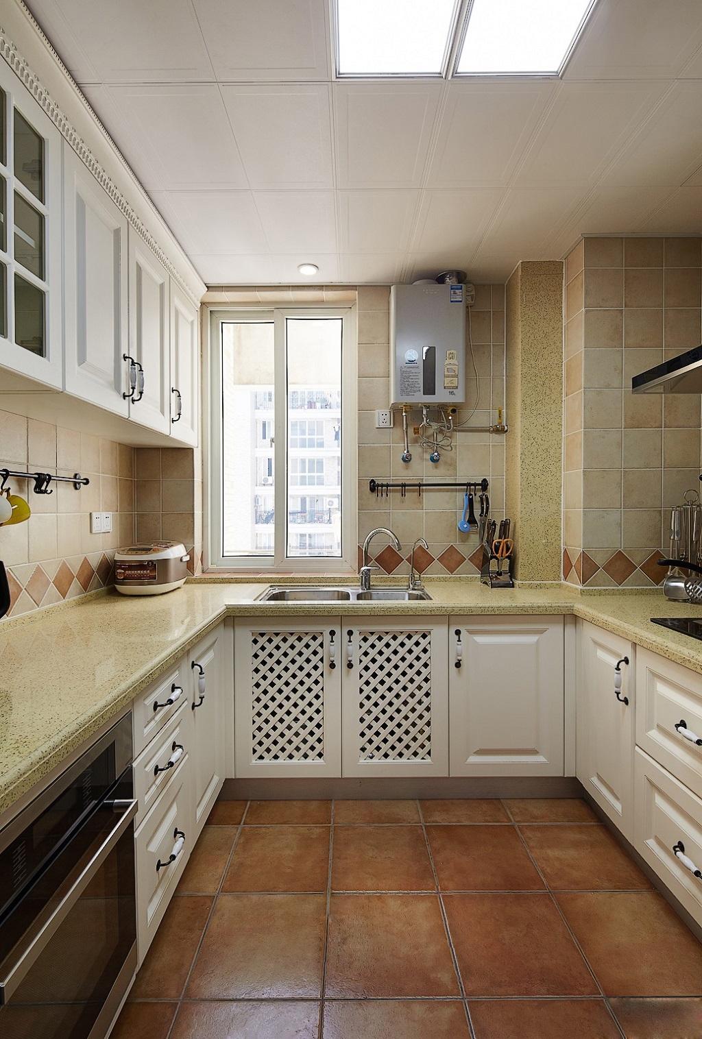 美式 厨房图片来自安豪装饰在华 润 橡 树 湾的分享