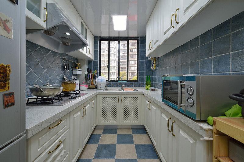 地中海 厨房图片来自安豪装饰在华地公馆地中海三居室的分享