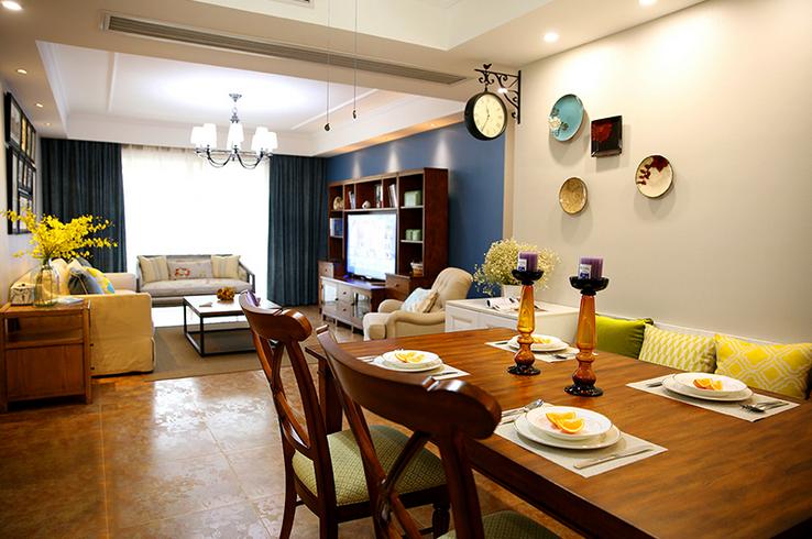 三居 餐厅图片来自西安紫苹果装饰工程有限公司在西沣公元1的分享