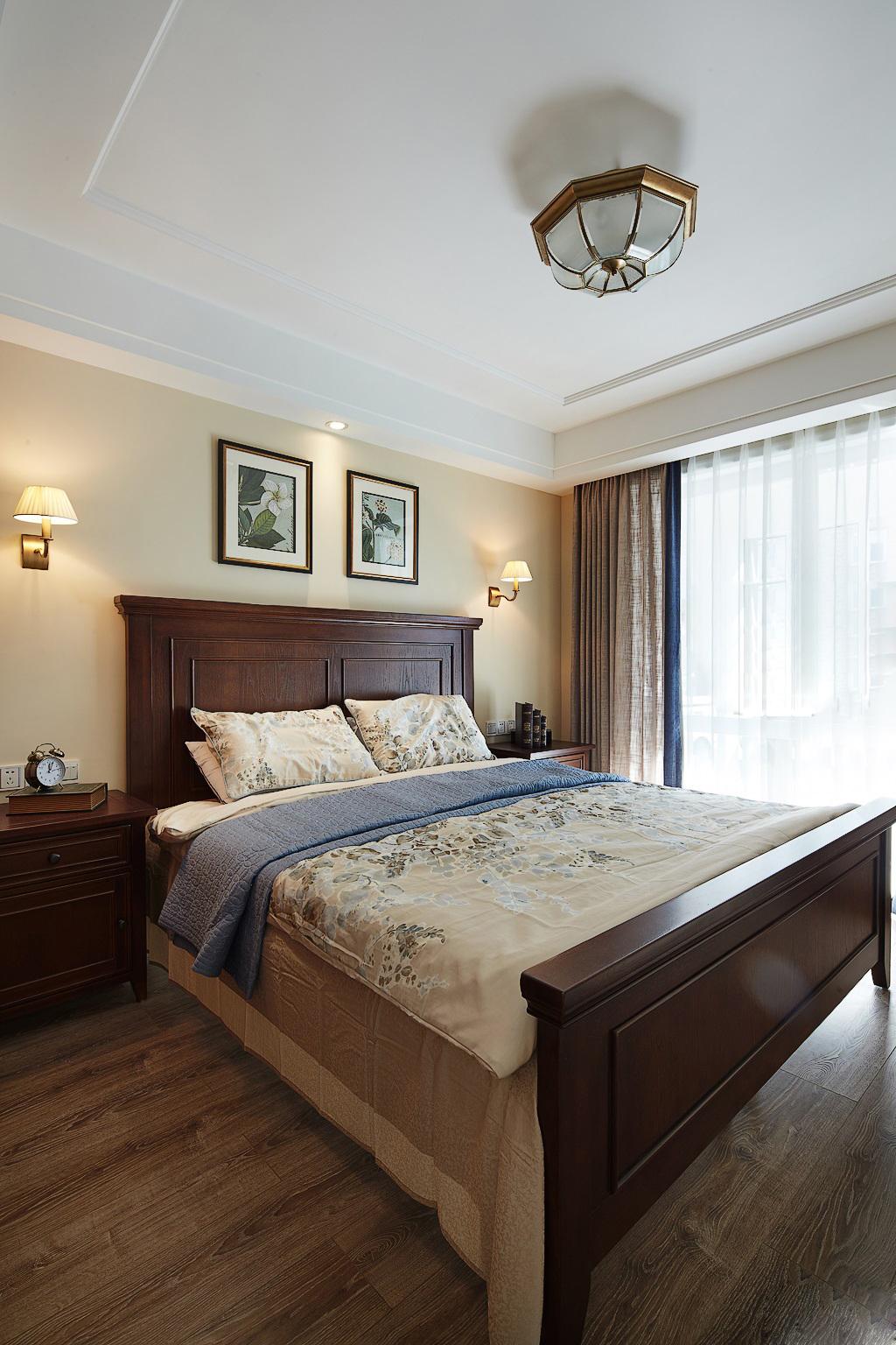 美式 卧室图片来自安豪装饰在华 润 橡 树 湾的分享
