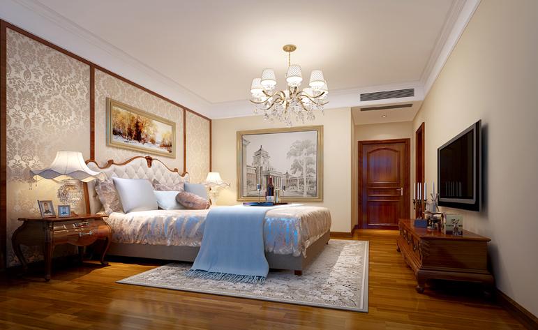 卧室图片来自半城烟沙5949758236在洋丰圣乔维斯——现代简约风格的分享