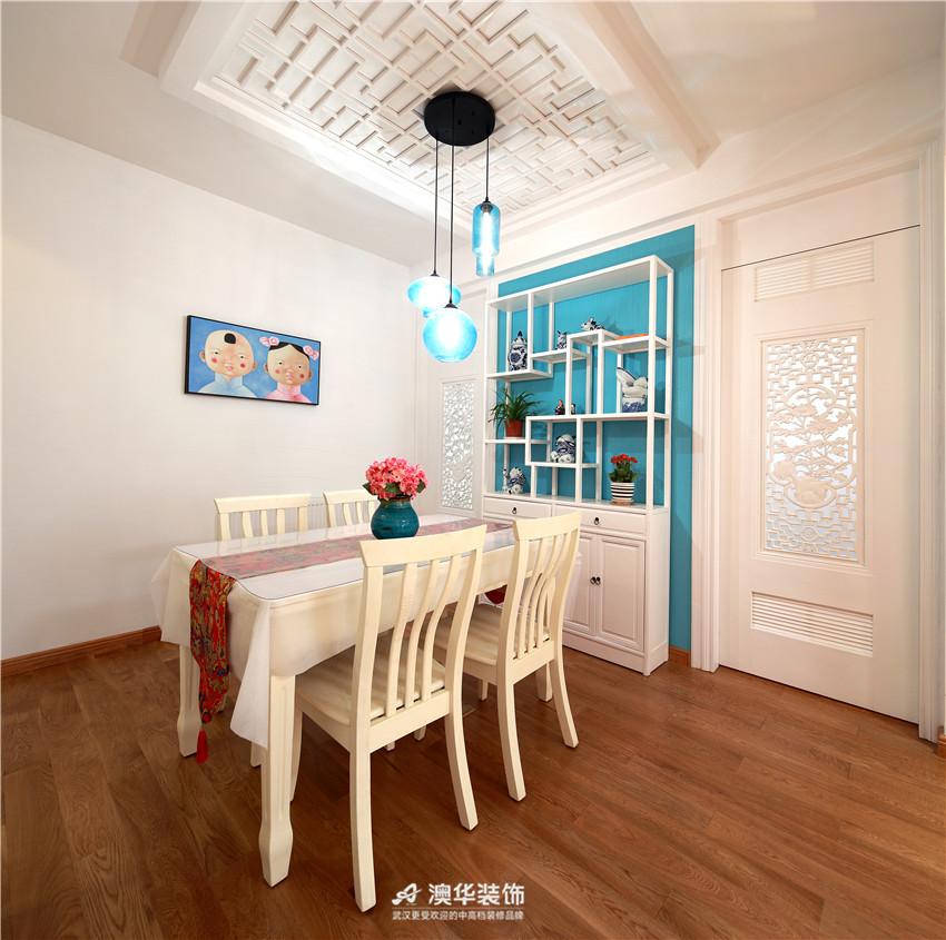 中式 二居 餐厅图片来自澳华装饰有限公司在华润中央公园· 新中式风韵的分享
