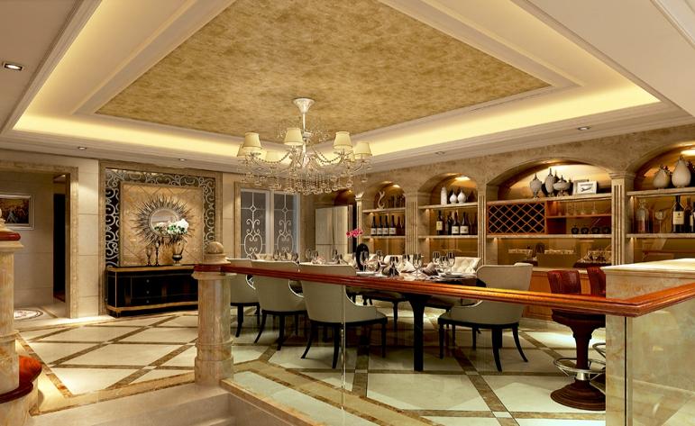 欧式 混搭 别墅 餐厅图片来自居众-姚工在休闲大气,沿袭古典风情的分享
