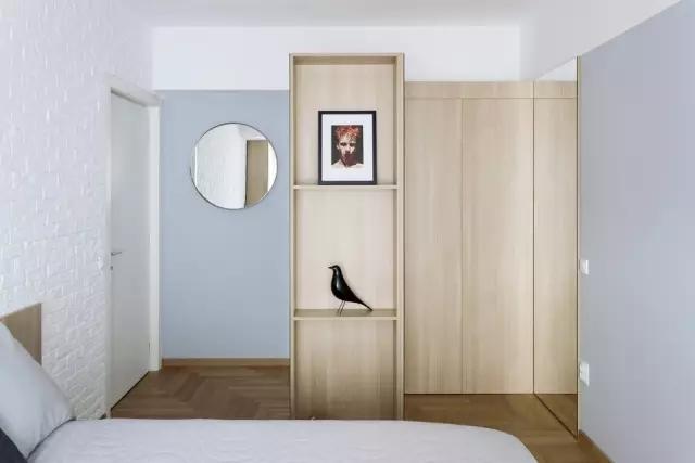 三居图片来自丰立装饰集团姜玲在120㎡时尚原木两居,中性风的分享