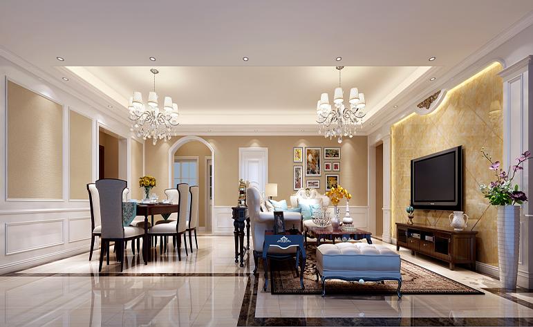 客厅图片来自半城烟沙5949758236在洋丰圣乔维斯——现代简约风格的分享