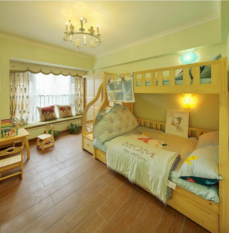 欧式 儿童房图片来自西安紫苹果装饰工程有限公司在龙湖香醍的分享