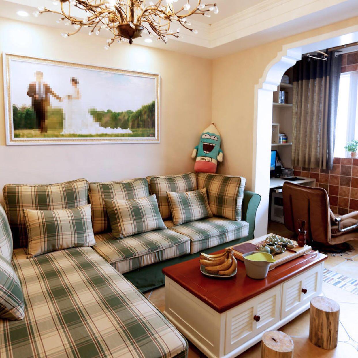 混搭 80后 小资 客厅图片来自北京轻舟幸福亿家装饰晶晶在102平混搭风格的分享